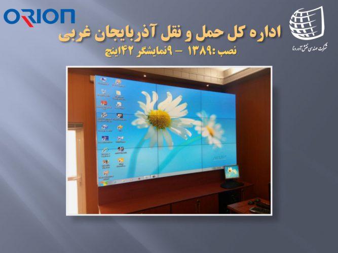 اداره کل حمل و نقل استان آذربایجان غربی