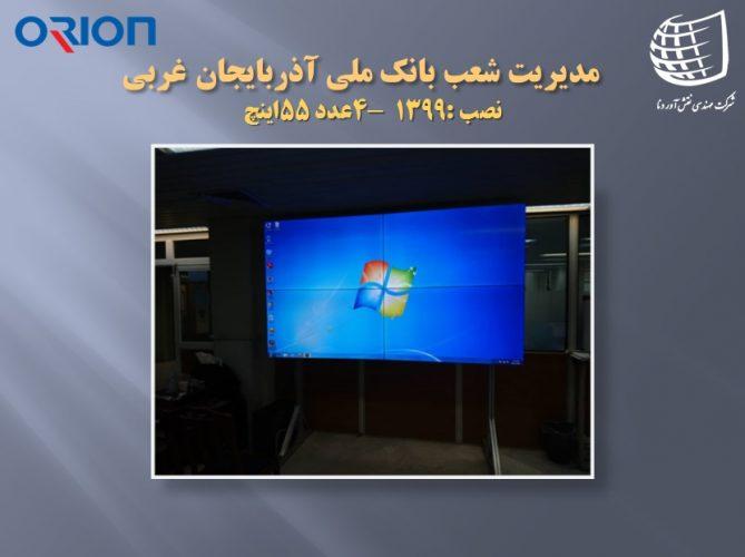 مدیریت شعب بانک ملی آذربایجان غربی